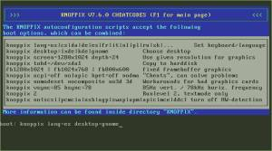 Seleccion F3 Knoppix 7.6