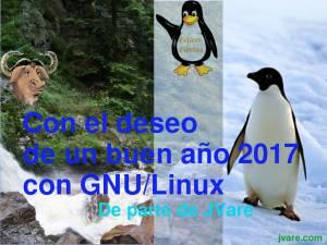 Buen año 2017 con GNU/Linux