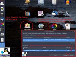 Creador usb de Linux Mint 18.2