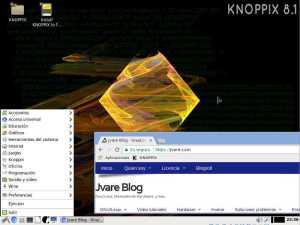 Disponible knoppix 8.1