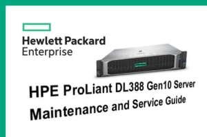Manuales HPE Proliant DL388 Gen10