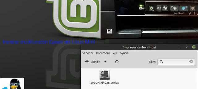 Instalar multifunción Epson en Linux Mint
