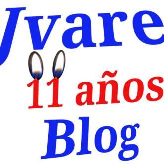 Jvare blog cumple 11 años