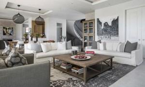 salón color blanco y gris
