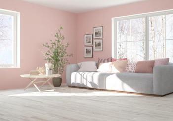 color rosa para tu hogar