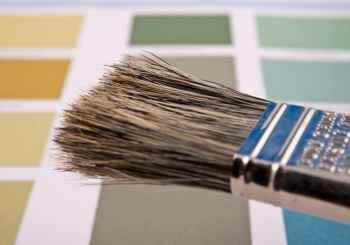 brocha y colores para espacios pequeños
