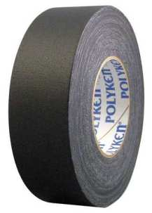"""Polyken 510 Black now in convenient 2"""" x 25 yd. shrink wrapped rolls! Perfect for your shelf displays or tool boxes! As low as $5.50 / roll !"""
