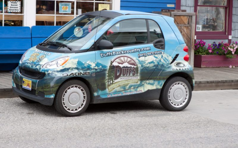 Smart Car with graphics