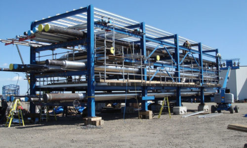 pipe and steel fabrication module