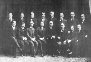 De Joegoslavische raad bijeen in Parijs, 1916 (fotograaf onbekend)