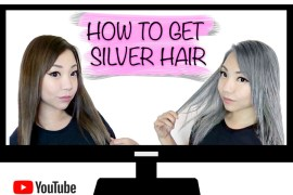 How To: Get Silver Hair from Brown Hair Tutorial