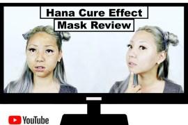 Beauty Review: Hana Cure Effect Korean Lifting Face Mask