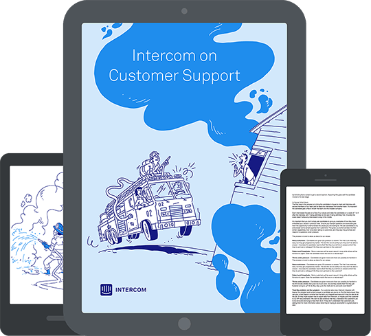 Intercom on Customer Support book