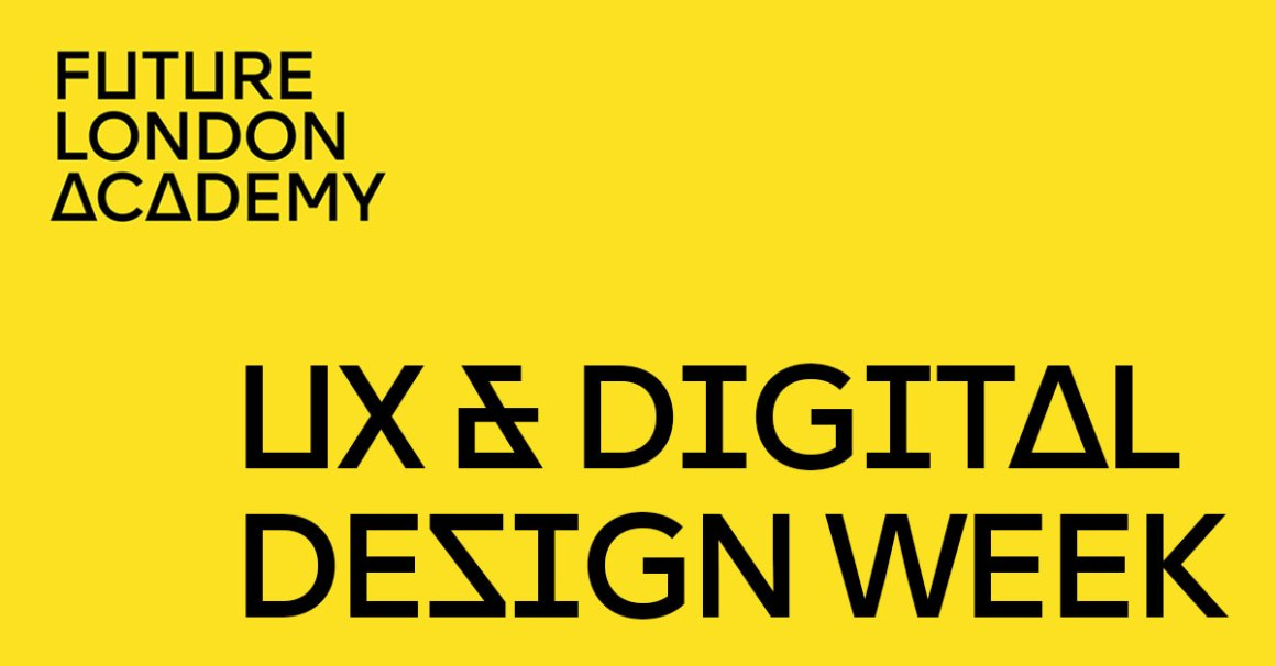 Future London Academy UX 2018