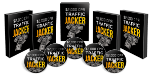 $2K CPA Traffic Jacker bundle