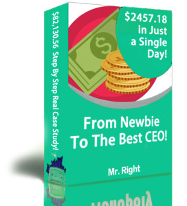 $2457.18 A Day ! From Newbie To The Best CEO Review