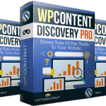 WP Content Discovery Pro – Unlimited Personal License Review By Mike Murphy – The Most Powerful WordPress Plugin That Will Increase Your Website Traffic With A Few Clicks Of Your Mouse
