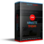 Minisite WP Theme Review By Heri Rosyadi – The Most Powerful WordPress Theme For Affiliate Marketers And List Building