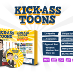 Kick-Ass Toons Review By lucas adamski – The Most Advanced Animated Characters Ever Launched That Will Change Forever The Video Marketing Game…