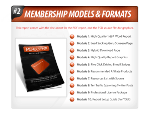 Lead Magnets - V3 - Membership PLR Reports Review