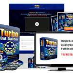 Turbo Bot Builder Software [Resale Rights] Review By Turbo PLR (John & Jonathan) – Reseller Opportunity To High Quality Software Business Turbo Bot Builder. Now You Can Bank 100% Profits With No Coding Experience!