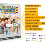 Kick-Ass Toons V2 Video Assets Software Review By lucas adamski – Easily Create Top Studio Quality Animated Videos And Increase Your Viewer's Engagement Dramatically