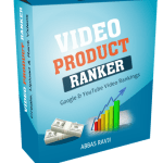 Video Product Ranker: Google And YouTube Video Rankings Review By abs007 – Research, Create, Upload & Rank videos for multiple Products, Get Targeted Traffic and Make More Money in 3 Easy Steps