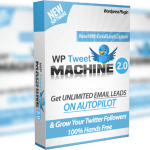 WP TweetMachine v2 – Unlimited Sites License Review By Ankur Shukla – Get Unlimited Email Leads From Twitter & Grow Your Twitter Followers 200% Faster – on Complete AUTOPILOT…