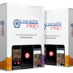 LiveSuitePro Lifetime : World's First Complete Facebook Live Marketing Platform Review By Jai Sharma LiveSuitePro – World's First and Only All In One Facebook Live Marketing Suite. Facebook Live Suite Pro covers all possible functionality you can think of to leverage Fb Live for Business