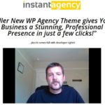 Instant Agency Theme By Robert Dickson Review – Stunning Agency theme with developers rights and one click install! Killer New WP Agency Theme gives Your Business a Stunning, Professional Presence in just a few clicks!