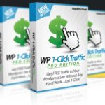 WP 1-Click Traffic PRO By Ankur Shukla Review – PRO Upgrade of WP 1-Click Traffic. 10X Your Social Reach & Results by Running Unlimited Traffic Campaigns in Parallel & Get 10X MORE TRAFFIC Easily…