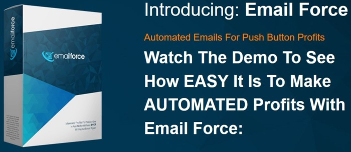 Email Force By Simon Harries