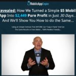 Mobile App Empire By Gary Alach Review – Discover How To Make Money By Reskinning Mobile Apps. How We Turned a Simple $5 Mobile App Into $2,449 Pure Profit in Just 30 Days… And We'll Show You How to do the Same…