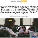 Instant Video Agency By Robert Dickson Review – Get Killer New WP Video Agency Theme gives Your Business a Stunning, Professional Presence in just a few clicks!