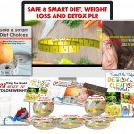 Safe & Smart Diet, Weight Loss & Detox 250 + Piece PLR By JR Lang Review – Get Brand New, Never Sold Or Used Before SAFE & SMART, DIET, WEIGHT LOSS & DETOX Giant Content Pack With Private Label Rights
