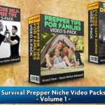 Survival Prepper Niche Video Packs Volume 1 By Steve Chase Review – Get 15 DFY Videos in 3 different subniches of the Survival Prepper Niche: Hardcore Self-Defense Techniques, Prepper Tips for Families, and Staying Safe During a Crisis