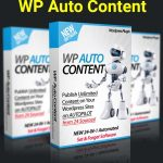 WP Auto Content By Ankur Shukla Review – Revealed Create Fully Automated WordPress Blogs That Get Fresh Content, Videos, Images & Affiliate Links on 100% AUTOPILOT for Passive Income…