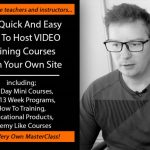 MasterClass Plugin By Matthew McDonald Review – The Quick And Easy Way To Host Video Training Course From Your Own Site… Including 3-5 Day Mini Courses, Full 13 Week Programs, How To Training and Educational Products!