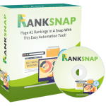 "RANKSNAP By Tom Yevsikov Review – The All-In-One SEO Automated Backlink Software. This Amazing Software Will Rank ANYTHING On Top Of Google And Youtube Fast By Building Thousands Of ""Sticky Backlinks As If A Human Does That FOR YOU ON AUTOPILOT"""
