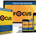 Focus For Success PLR Bundle By Chad Eljisr Review – ‌Cash In On The Growing Self Help Niche By Helping Your Audience Develop A Laser Focused Mind and Achieve Success!