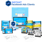 Instant FB Ads Clients By Pixelcrafter Review – A Brand New, Done-For-You Facebook Advertising Service LeadGen Pack with PLR Rights You Can Add Your Name to and Edit However You Want to Bring in High-Ticket Clients!