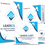 Leads2List By Cyril Gupta Review – Powerful New SAAS Unlocks 100% Fresh List Building Method. Creates Huge Leads List From Facebook. Easily & Instantly Deposit UNLIMITED Facebook Leads Straight Into Your Autoresponder