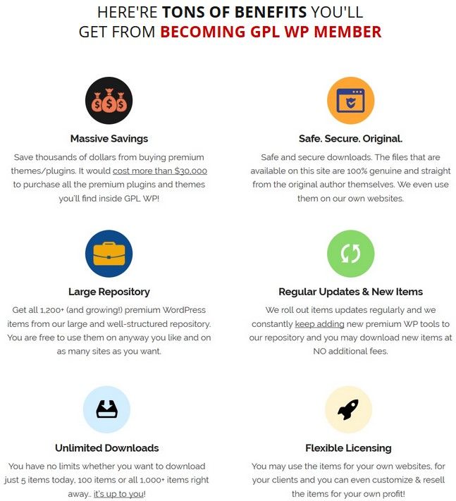 GPL WP BlackFriday 2018 By BCBiz WpThemePlugin.com Review