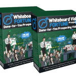 Whiteboard Video Fortune Prospecting Reloaded By Dawn Vu Review – Grab 10 High-Converting Prospecting Whiteboard Videos That Help Local Consultants Promote 10 Popular And Profitable Local Marketing Services. Comes With Powerpoint Templates For Easy Editing