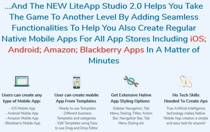 LiteApp Studio 2.0 By Dr Ope Banwo Review