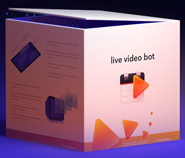 Live Video Bot By Sam Robinson Review