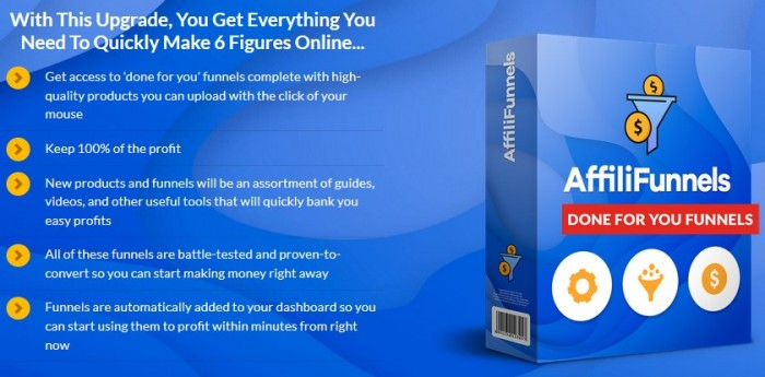 AffiliFunnels GOLD PRO By Glynn Kosky & Rod Beckwith Review
