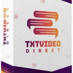 TXTVideo Direct By Jamie Ohler Review – Create Highly Engaging And Fully Customizable TXT Videos In Minutes… And Add Images, GIFs, Personalization, Custom Backgrounds, and Call-To-Action Buttons Right Inside The Video To Skyrocket Leads, Retention, And Conversion Rates!