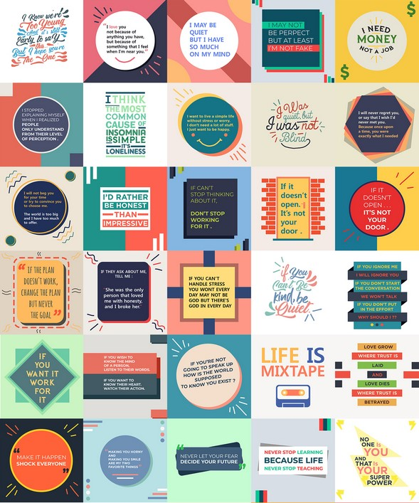 Viral Quote Posters By Deni Iskandar Review