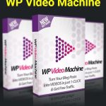 WP Video Machine By Ankur Shukla Review – Brand New WordPress Plugin Gets You  Unlimited FREE TRAFFIC & BACKLINKS By Converting Your Blog Posts into Videos in just 1-Click…